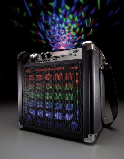 Bluetooth Party Speaker with Disco Light